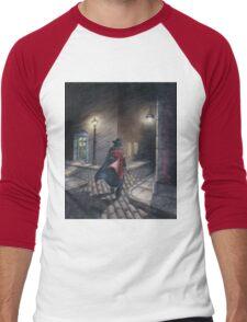 Murder by Gas Lamp Men's Baseball ¾ T-Shirt