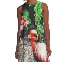 Jungle A-Line Dress