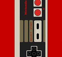 Nintendo Nes Controller Case by Dman329