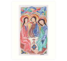 Celtic Trinity Art Print