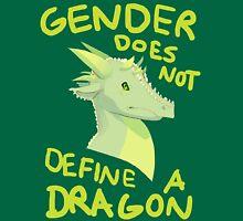 Gender Does Not Define Dragons Unisex T-Shirt