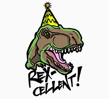 Rex-Cellent Dinosaur Theme Party for Kids and Adults Tyrannosaurus Unisex T-Shirt