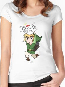 Higher! Higher!  Women's Fitted Scoop T-Shirt