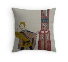 Tower lookout Throw Pillow