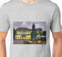 Central Post Office and Beethoven Memorial in Bonn Unisex T-Shirt