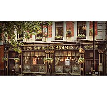 The Sherlock Holmes Restaurant Photographic Print