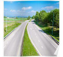 Empty highway Poster