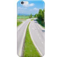Empty highway iPhone Case/Skin