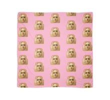 Baby Pink Toast Face Scarf