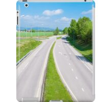 Empty highway iPad Case/Skin
