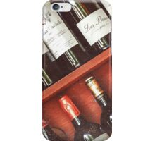 wine collection iPhone Case/Skin