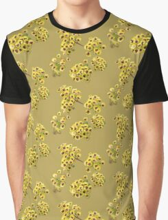 Yellow Wildflower with Purple Center Graphic T-Shirt