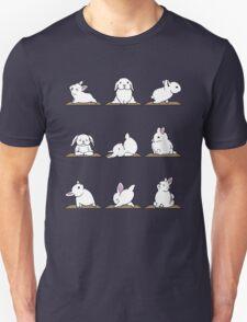 Yoga Shirt - Rabbit Yoga Shirt - Funny Rabbit Shirts Unisex T-Shirt