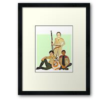 Resistance Trio Framed Print