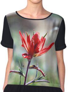 Desert Blossom 1 Chiffon Top