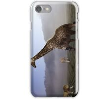 african animal soccer iPhone Case/Skin