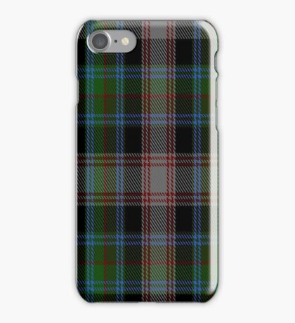 01392 Cherry Valley New York District Tartan iPhone Case/Skin