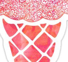 Pink Icrecream Sticker