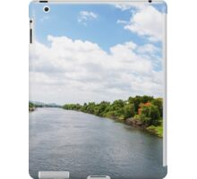 View over River Kwai, Kanchanaburi province, Thailand iPad Case/Skin