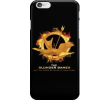 The Blunder Games iPhone Case/Skin