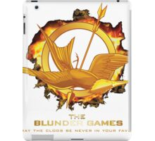The Blunder Games iPad Case/Skin