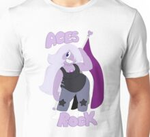 Asexual Pride- Aces Rock! Unisex T-Shirt