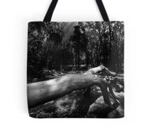 There's Something In The Woods Tote Bag