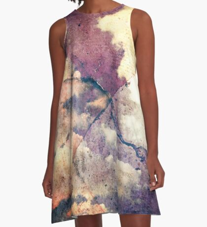 As Above So Below A-Line Dress