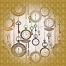 Time Is On My Side Designer Vintage Look by Delights