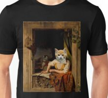 The Kitten Violinist - Anthropomorphic Composite Unisex T-Shirt