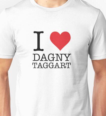 I Heart Dagny Taggart Unisex T-Shirt