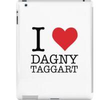 I Heart Dagny Taggart iPad Case/Skin
