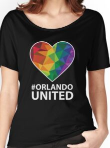 Orlando United - Be Strong Orlando T-shirt Women's Relaxed Fit T-Shirt