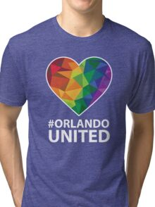 Orlando United - Be Strong Orlando T-shirt Tri-blend T-Shirt
