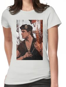 Steven Seagal Womens Fitted T-Shirt