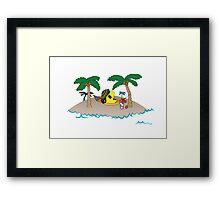 Pacmon Framed Print