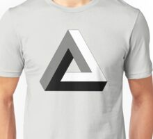 "Penrose Triangle ""Impossible Triangle"" Unisex T-Shirt"