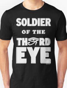 Soldier Of The Third Eye [White] | XIIXXIXII Unisex T-Shirt
