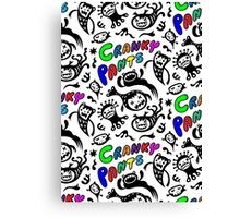 Cranky Pants Canvas Print