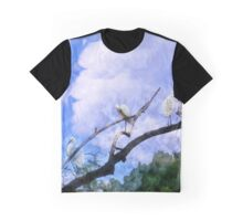 Cranes In A Tree Graphic T-Shirt