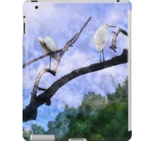 Cranes In A Tree iPad Case/Skin