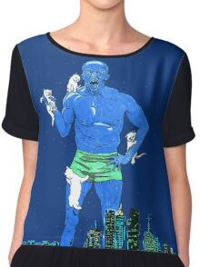 Terry Crews Chiffon Top