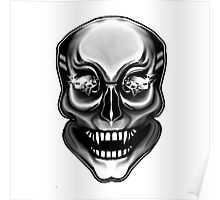Diamond Eyed Skull Poster