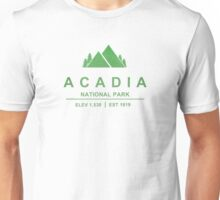 Acadia, Maine National Park Unisex T-Shirt