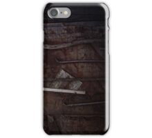 tools on rust iPhone Case/Skin