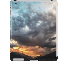 Sky With Clouds and Hills and Such iPad Case/Skin