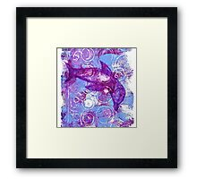 Magic Bubble Dolphin Framed Print