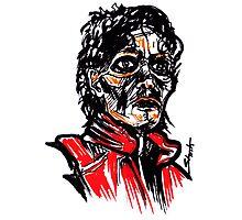 Thriller MJ Photographic Print