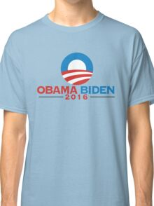 Obama-Biden 2016 Presidential Re-Election Campaign Gear Classic T-Shirt