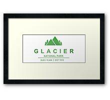 Glacier National Park, Montana Framed Print